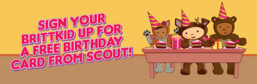 Sign up for a free birthday card from Scout!