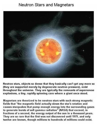 Fig 2 Neutron Stars & Magnetars