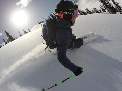 Shred and Slytech Co-founder Ted Ligety