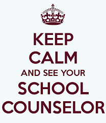 Image result for keep calm and see your school counselor