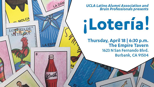 Loteria Night with ULAA and Bruin Professionals