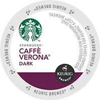 Starbucks Cafe Verona Keurig® K-Cup® coffee pods