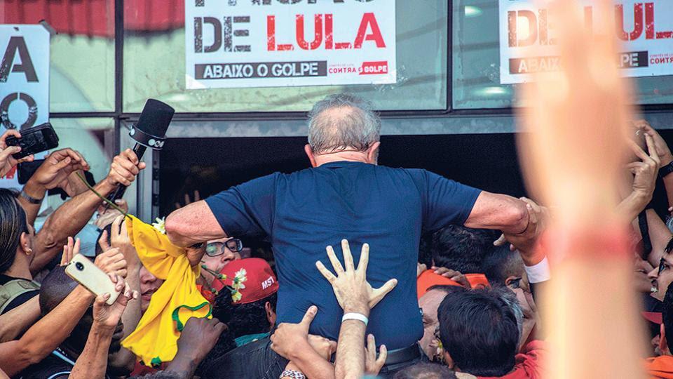 """Boff le contó a Pérez Esquivel hasta una frase del nieto de Lula antes del encarcelamiento """"Mi abuelito no es un ladrón ni un criminal"""""""