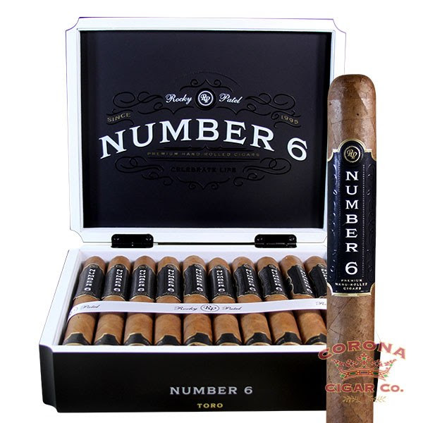 Image of Rocky Patel Number 6 Toro Cigars