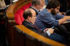 El bloqueo a Iceta rompe una tradición parlamentaria de 40 años