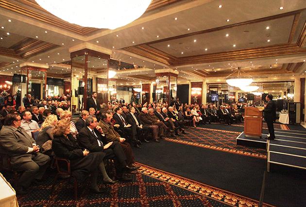 Κεντρική ομιλία Νότη Μηταράκη στην Αθήνα