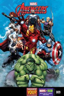 Marvel Universe Avengers: Ultron Revolution #9