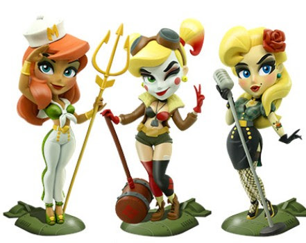 Cryptozoic Entertainment at New York Comic Con 2018 DC Bombshells: Series 3