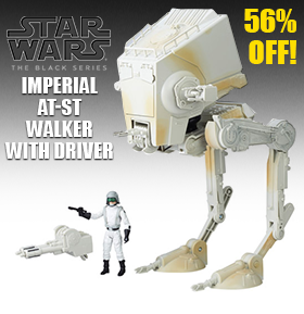 STAR WARS: THE BLACK SERIES AT-ST WALKER $24.99