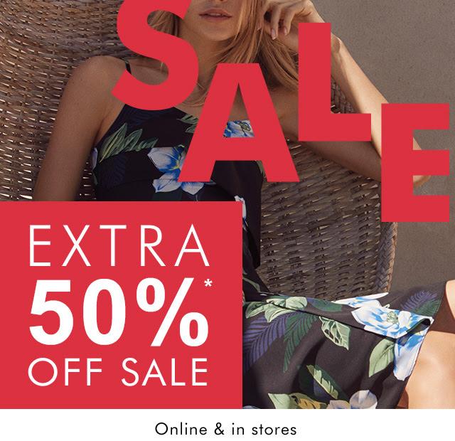 SALE | EXTRA 50%* OFF SALE