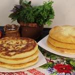 Пироги с сыром на сковороде
