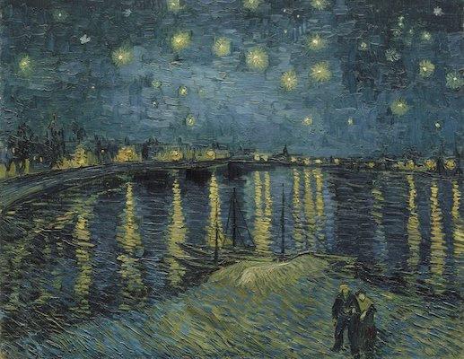 Vincent van Gogh, Starry Night over the Rhone