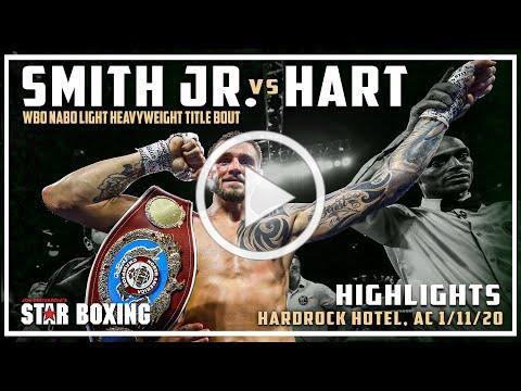Joe Smith Jr. vs Jesse Hart: NABO Title Bout (Highlights)