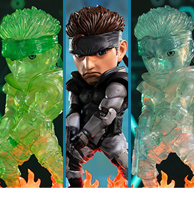 METAL GEAR SOLID SD LIMITED EDITION STATUES