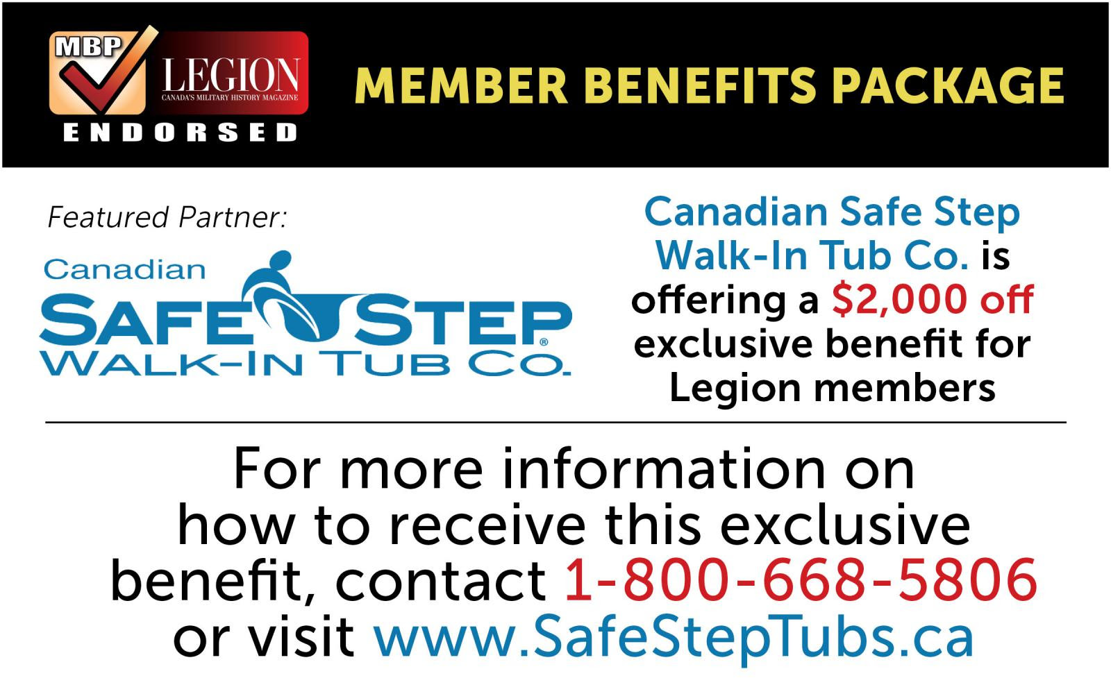 Safestep tubs