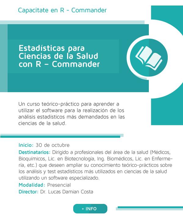 Estadísticas para Ciencias de la Salud con R – Commander