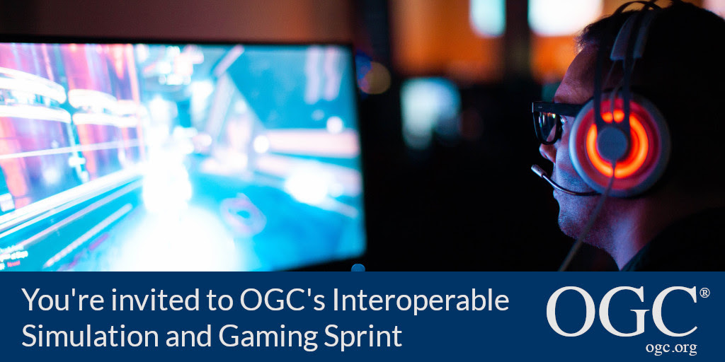 Interoperable Simulation and Gaming Sprint banner