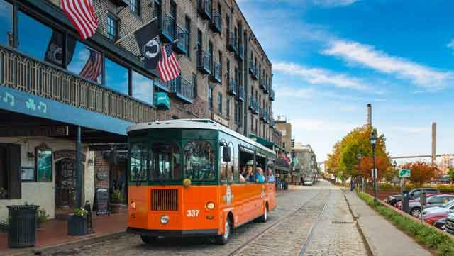 Trolley Tour in Savannah