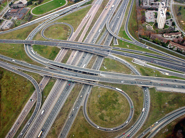 Highway 401/DVP Interchange