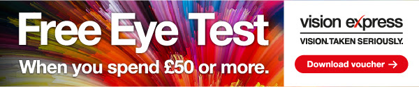 Free eye test ad
