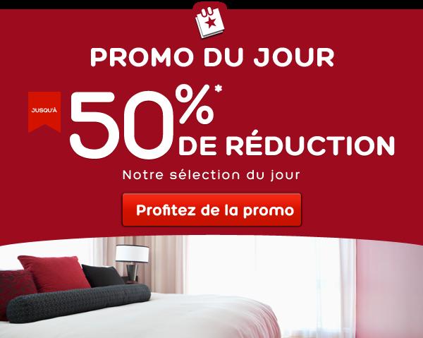 Promo-du-jour - Économisez jusqu'à 50 %*