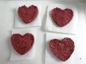 Hamburguesas para San Valentin