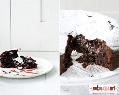Шведський шоколадний торт