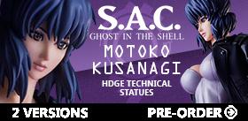 HDGE Technical Statue #06 Motoko Kusanagi