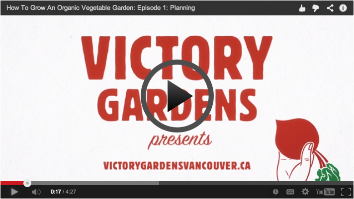Victory Gardens Video