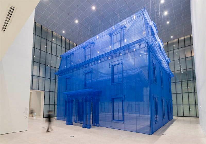 Do Ho Suh Casa Trasparente
