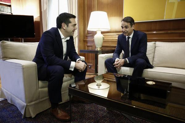 Δημοσκόπηση Marc: Στις 8,9 μονάδες η διαφορά ΝΔ - ΣΥΡΙΖΑ- 66% «όχι» στις Πρέσπες