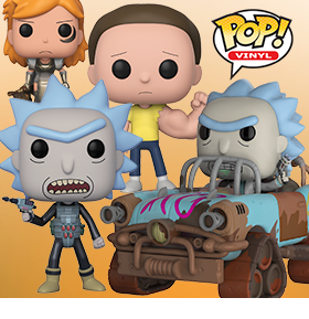 FUNKO PRISON BREAK RICK AND MORTY