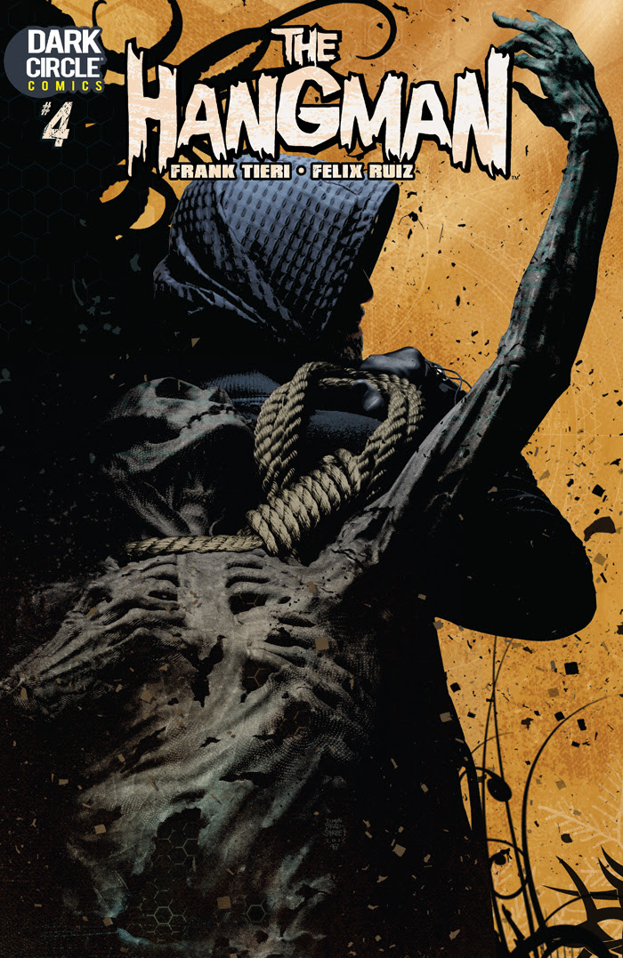 The Hangman #4 Cover