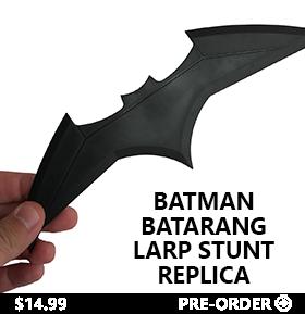 BATMAN BATARANG LARP STUNT REPLICA