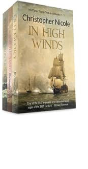In High Winds: McGann Saga Omnibus Books 1–3 by Christopher Nicole