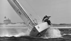 J/29 Hustler sailing Block Island