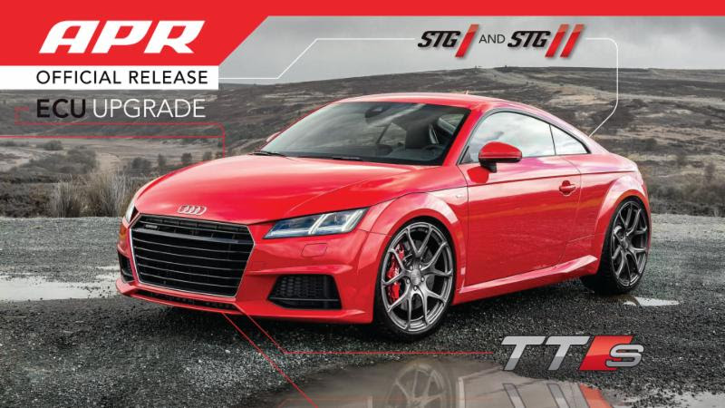 APR Presents the New Audi TTS 2.0 TFSI ECU Upgrade!