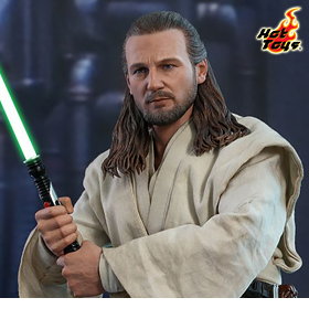 STAR WARS: THE PHANTOM MENACE MMS525 QUI-GON JINN 1/6TH SCALE FIGURE