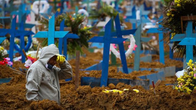 Brasil registra 237 mortes por Covid em 24 h e chega a 597,9 mil óbitos