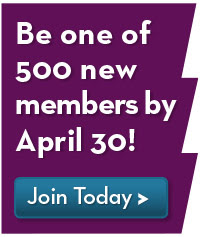 Help us reach our goal of 500 new members!