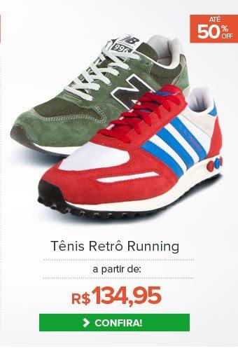Tênis Retrô Running
