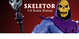 MASTERS OF THE UNIVERSE: SKELETOR 1/4 SCALE STATUE
