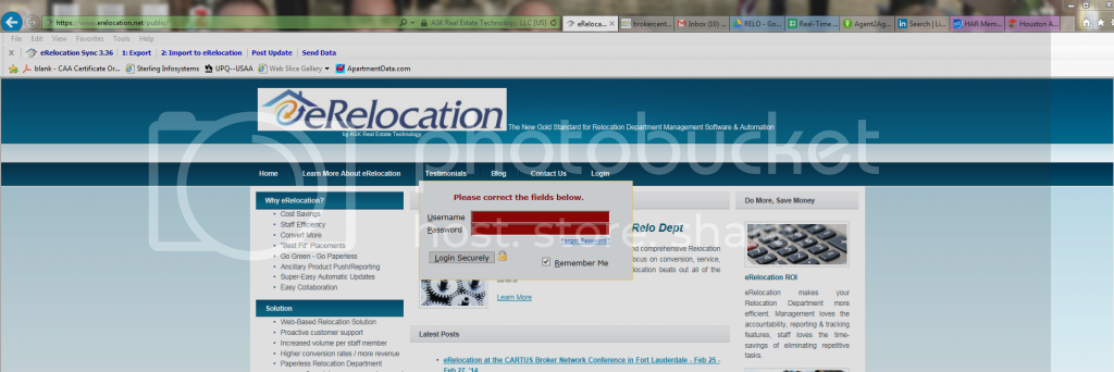 eRelocation  Relocation  RELO