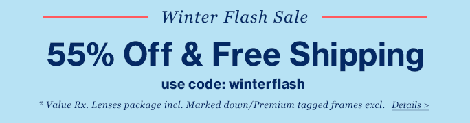 GlassesUSA - 55% off and Free.