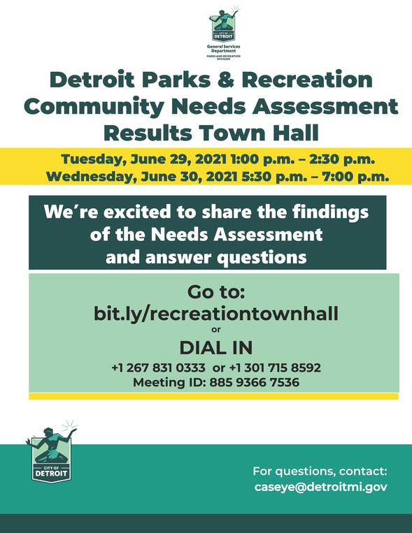 Recreation Needs Assessment Town Hall