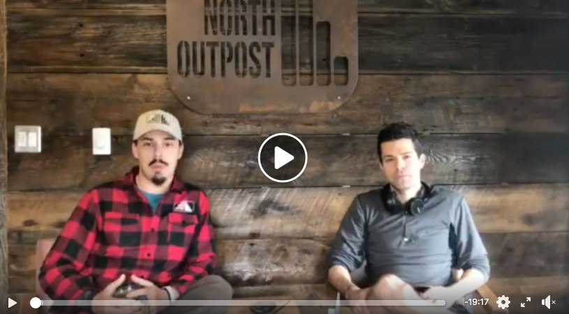 Click to watch an interview with True North Outpost's Evan Blagec and Northbound's Seth Anderson