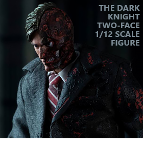 THE DARK KNIGHT TWO-FACE 1/12 SCALE FIGURE