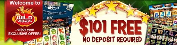 wild vegas casino 101 free bonus