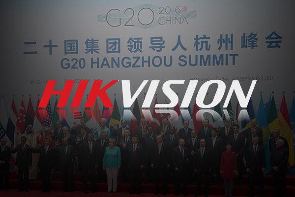 Безопасность на G20 под контролем Hikvision!