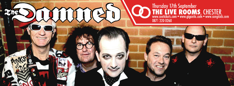 The Damned @ Live Rooms, Chester